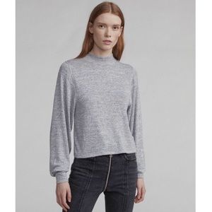 Rag & Bone Bigsby Long Sleeve in Heather Grey
